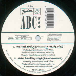 ABC - Real Thing (Pickering-Park Mix), The