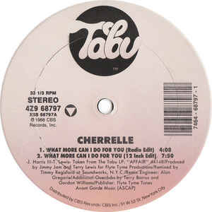 Cherrelle - What More Can I Do For You (12 Inch Edit)