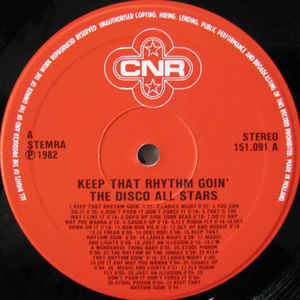 Disco All Stars, The - Keep That Rhythm Goin'