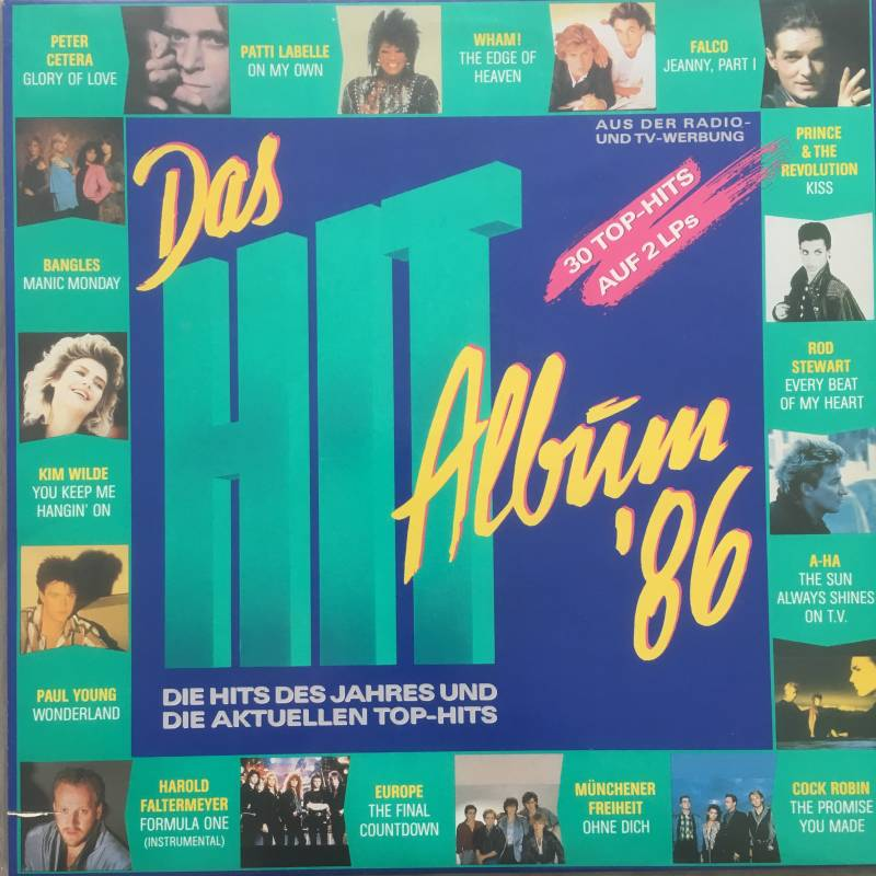 Das Hit Album '86 (2 LP's)