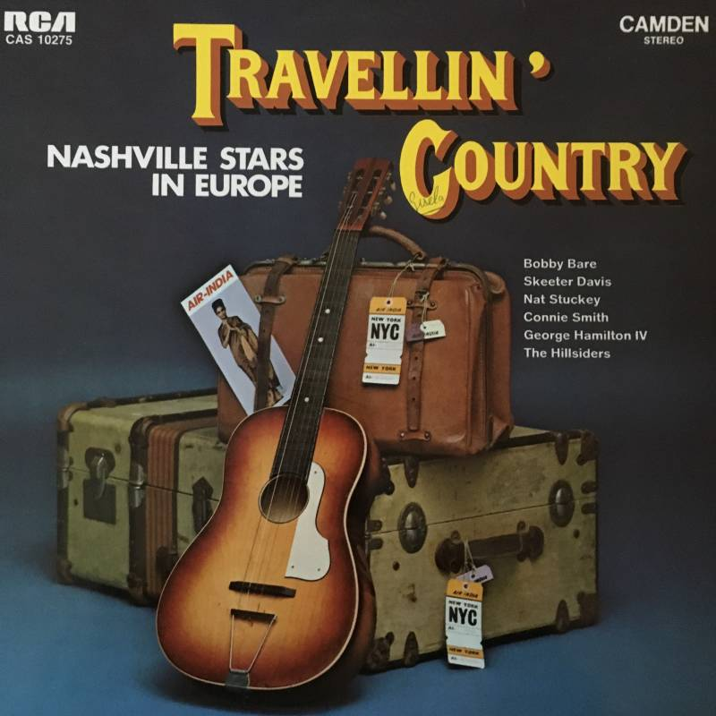Various - Traveling' Country Nashville Stars In Europe