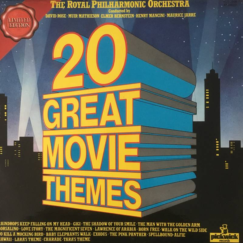 The Royal Philharmonic Orchestra - 20 Great Movie Themes