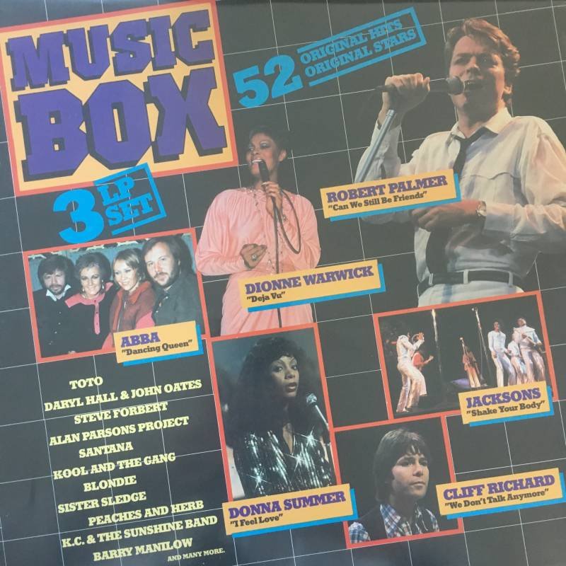 Music Box / Sound Express - 52 original hits (3 LP'3)