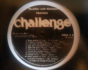 Friends - Meddlin' With Shalamar / Don't Touch The Sun