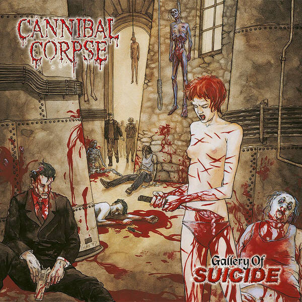 Cannibal Corpse – Gallery Of Suicide   [idnr:12765]