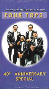 Four Tops – 40th Anniversary Special - Live From The MGM Grand In Las Vegas  [idnr:60051]