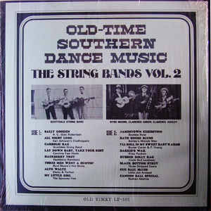 Old Time Southern Dance Music : The String Bands Vol 2 [idnr:11860]