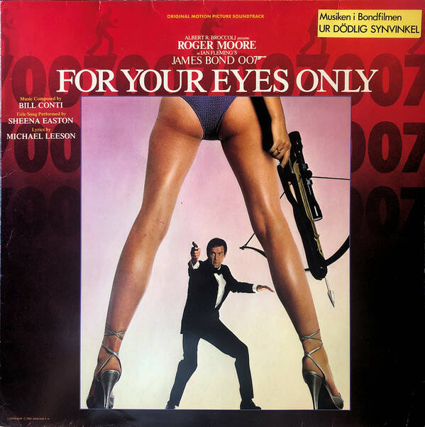 Bill Conti – For Your Eyes Only (Soundtrack)  [idnr:13354]