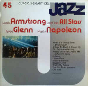 Louis Armstrong And His All Stars ‎– I Giganti Del Jazz[idnr:09085]