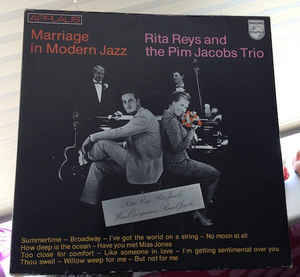 Rita Reys and The Pim Jacobs Trio – Marriage In Modern Jazz  [idnr:12494]