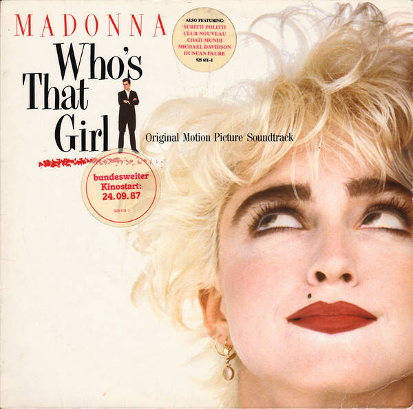 Madonna ‎– Who's That Girl (Soundtrack)  [idnr:13200]