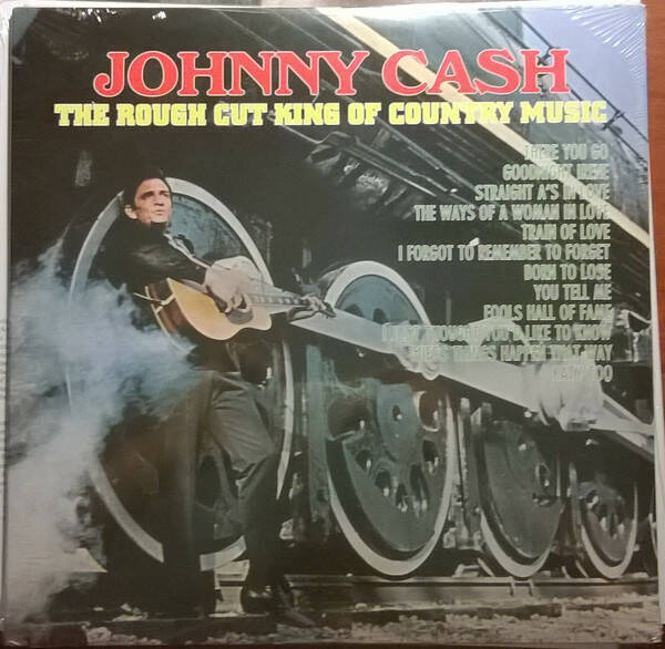 Johnny Cash ‎– The Rough Cut King Of Country Music  [idnr:10434]