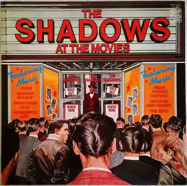 Shadows, The ‎– The Shadows At The Movies  [idnr:13157]