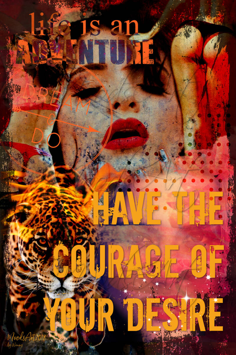Have the courage of your desire