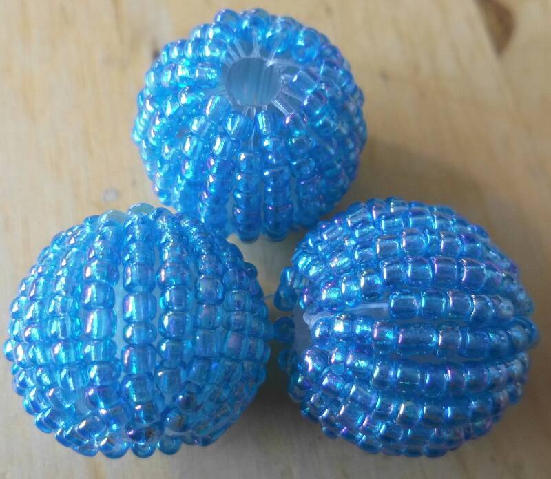 Rocaillebal 20 mm Turquoise kr90698