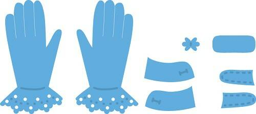 Creatable Tiny`s Gloves - LR0336