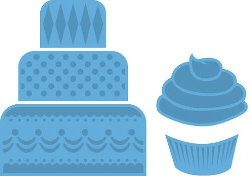 Creatable Mini cake & cupcake - LR0341
