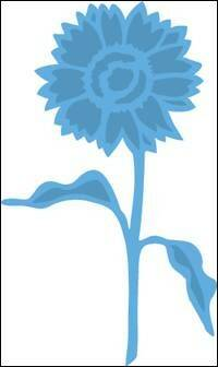 Creatables stencil Tiny`s sunflower - LR0361