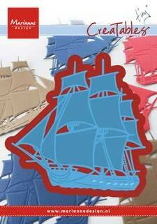 Creatables stencil Tiny`s tall ship - LR0416
