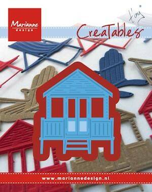 Creatables stencil Tiny`s beach house - LR0422