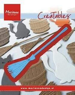 Creatables stencil broom - LR0433