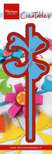 Creatable Bow & ribbon - LR0447