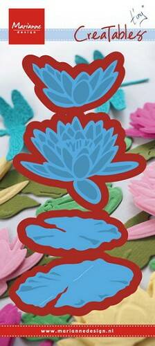 Creatables stencil Tiny`s waterlily - LR0460
