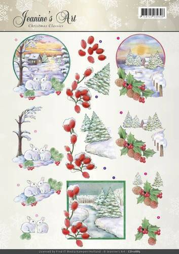 Jeanines Art - Christmas Classics - Landscapes  CD10885