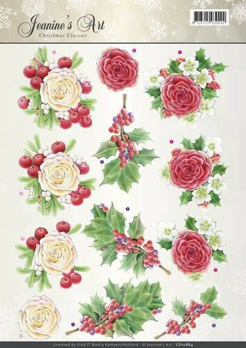 Jeanines Art - Christmas Classics - Rose  CD10884