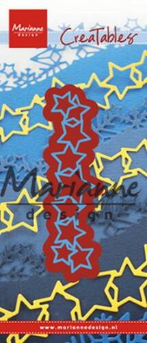 Creatables stencil lots of stars - LR0487