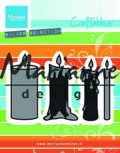 Craftables stencil candles set - CR1426