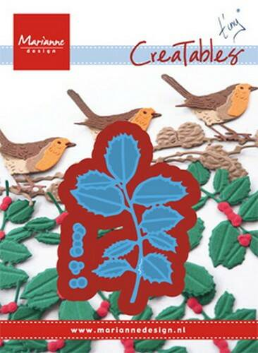 Creatables stencil Tiny`s Holly - LR0549