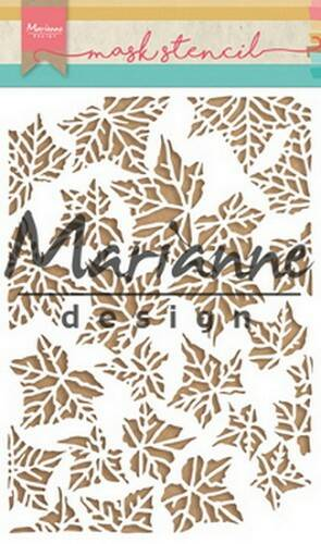 Mask stencil Tiny`s leaves - PS8009