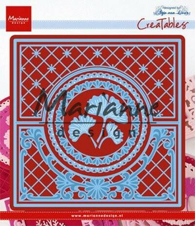Creatables stencil Anja`s lacy folding die circle - LR0552