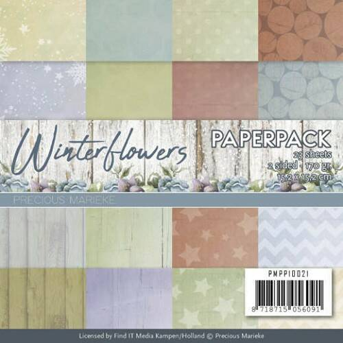 Paperpack - Winter Flowers - PMPP10021