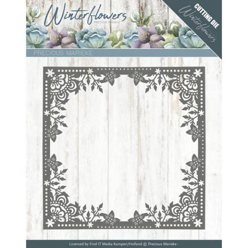 Winter Flowers - Ice Flower Frame - PM10138