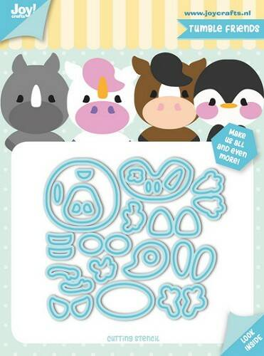 Joy! stencil Jocelijne tumble friends - 6002/1179