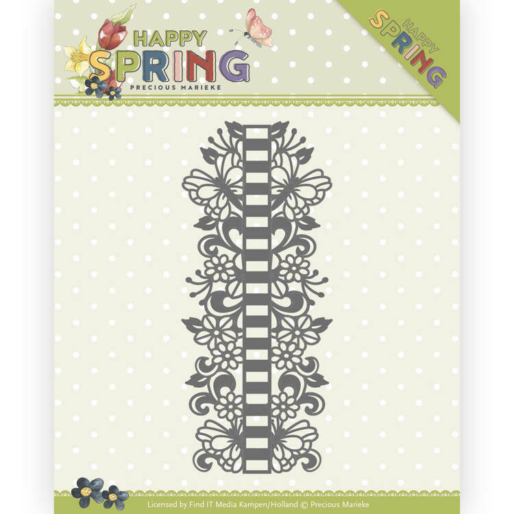 Happy Spring - Ribbon Border - PM10147