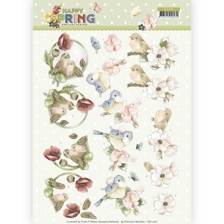 Happy Spring - Happy Birds - CD11262