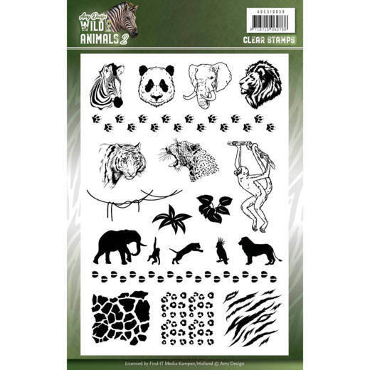 Clear Stamps - Amy Design - Wild Animals 2  ADCS10058