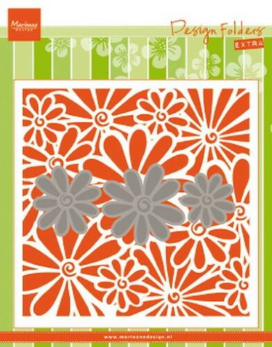 Design folder extra Daisies - DF3451