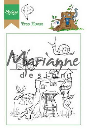 Clear stamp Hetty`s tree house - HT1642