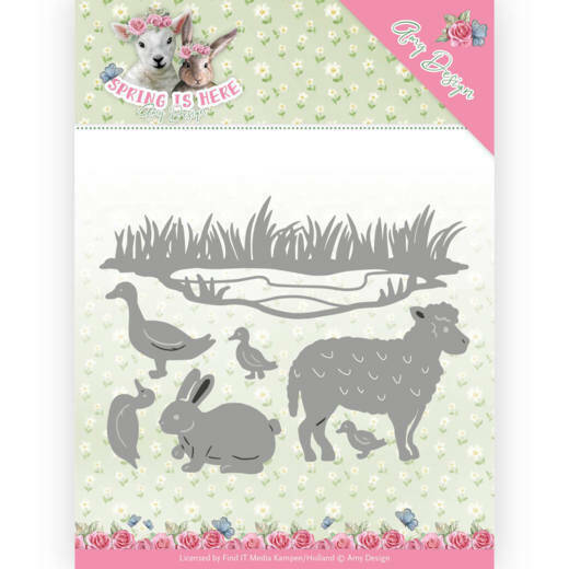 Amy Design - Spring is Here - Spring Animals - ADD10167