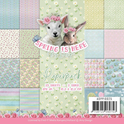 Paperpack - Amy Design - Spring is Here - ADPP10025