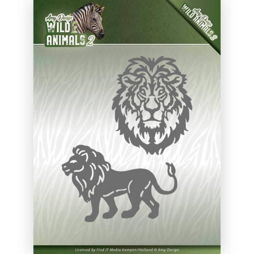 Amy Design - Wild Animals 2 - Lion  ADD10177