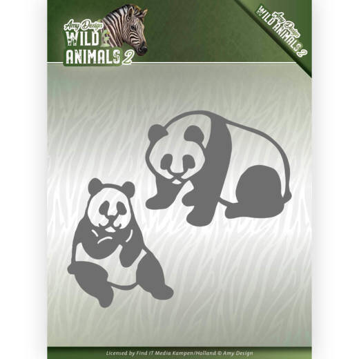Amy Design - Wild Animals 2 - Panda Bear  ADD10180