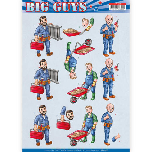 Yvonne Creations- Big Guys - Repairs   CD11328