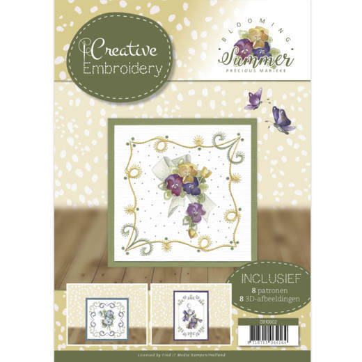 Creative Embroidery 2 - Precious Marieke - Blooming Summer   CB10002