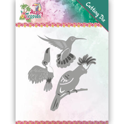Yvonne Creations - Happy Tropics - Exotic Birds    YCD10175