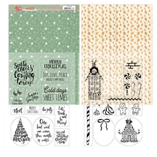Mica Sheets - Yvonne Creations - Sweet Christmas - YCMC1003